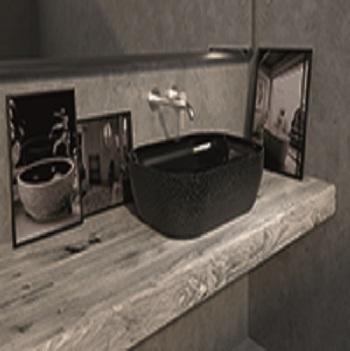 lavabo decorativo baño