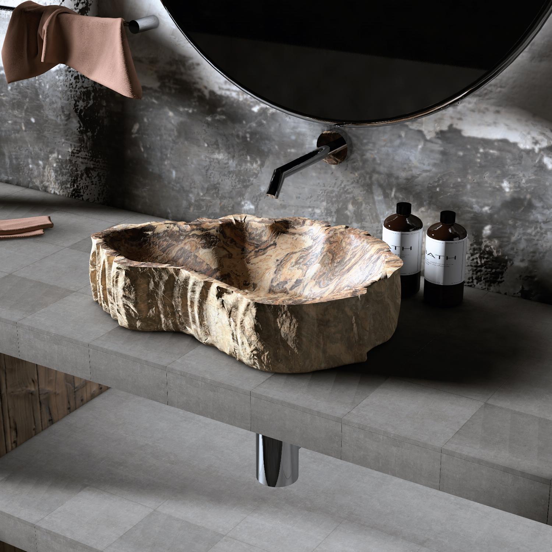 Lavabo de `piedra para baño